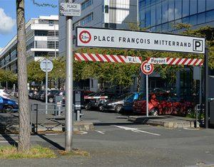 Parking Mitterrand Angers