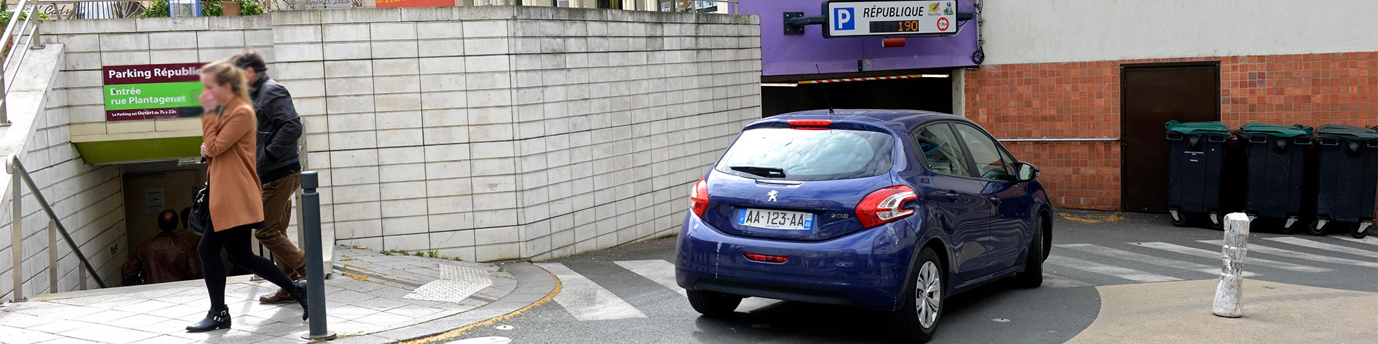 Parking République Angers
