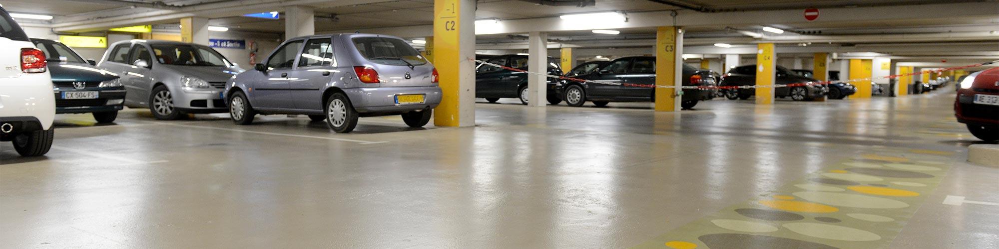 Parking de la République Angers