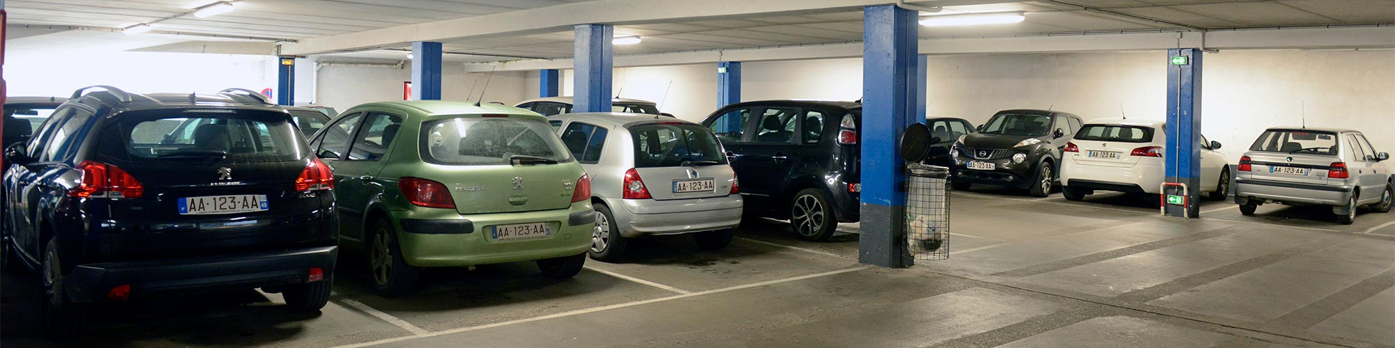Parking Bressigny Angers