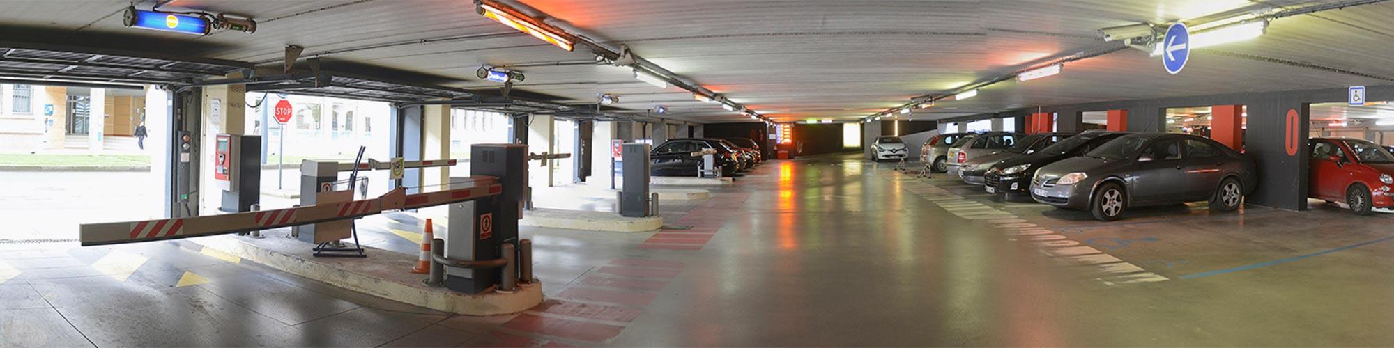 Parking Molière Angers