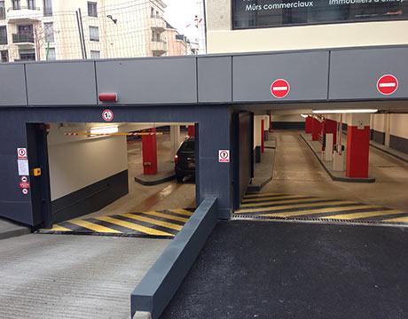 Parking Fleur Eau les Halles Angers