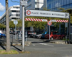 Parking Mitterrand Angers